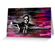 Graffiti Gangster Greeting Card