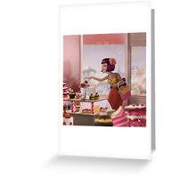 French Bakery Greeting Card