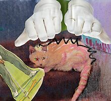 Cat Golf Gloves by Gabriele Maurus