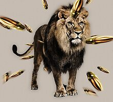 Can't tame a lion by Theron Scott