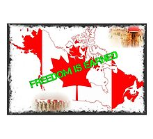 Canada Freedom is earned by cordug