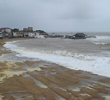 Broadstairs in the Cold by Berni Elbourn