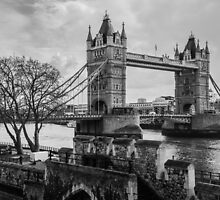 London's Tower Bridge by Nicole Petegorsky