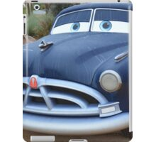 Disney Cars Pixar Cars Hudson Hornet DOC Paul Newman iPad Case/Skin