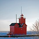 Michigan Lighthouse by Maria Dryfhout