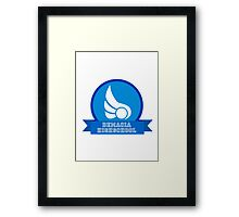Demacia HIGHSCHOOL Framed Print