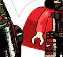 Santa Vader and a Droid Tree! Sticker