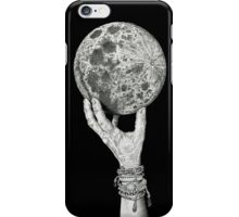 Moon in Her Hand iPhone Case/Skin