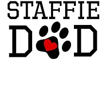 Staffie Dad by kwg2200