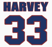 National baseball player Matt Harvey jersey 33 by imsport