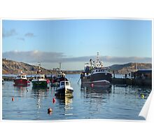 Boats in the Harbour 2014-12-24 Poster