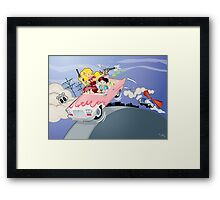 The Getaway on Route 66 Framed Print