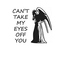 Can't Take My Eyes Off You - Doctor Who Photographic Print