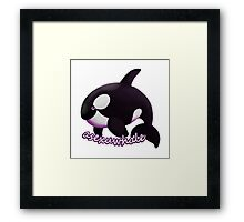 Asexuwhale Framed Print