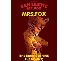 Fantastic Mrs. Fox Photographic Print