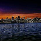 San Francisco SUN SET by garycraft