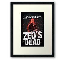 Zed's Dead - Pulp Fiction Framed Print