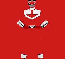 Power Rangers Time Force Red Ranger by simplepete