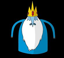 Ice King, Adventure Time by adovemore