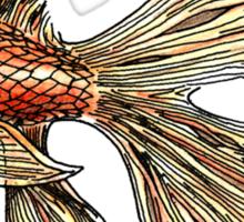 Just a Goldfish Sticker