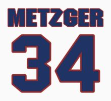 National baseball player Butch Metzger jersey 34 by imsport