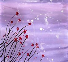 Starlit Flowers by klbailey