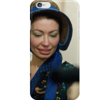 Dickens Fair Corset and Cap Lady iPhone Case/Skin