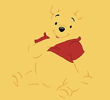 Disney Winnie the Pooh iPhone Case by simplepete
