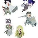 Log Horizon group by GinHans