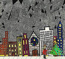 Christmas in the Big City with Yolanda by Alberto  DeJesus