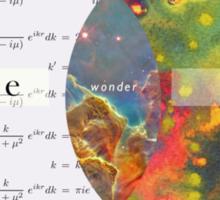 Science, Art, Wonder Sticker