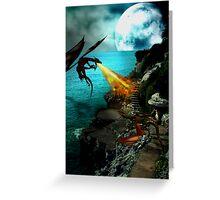 Dragon Wars Greeting Card