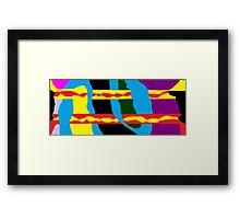 JPEG Abstract 8 Framed Print