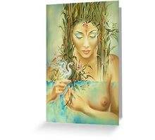 Chinese Fairytale (Weaving the Threads of Life...) Greeting Card