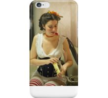Dickens Fair Corset Model iPhone Case/Skin