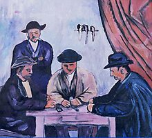Card Players by students