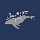 Crazy Humpback (whale) Lady by jazzydevil