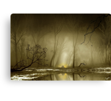 Enigmatic Passage Canvas Print