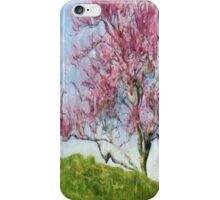 Pink Flowering Tree iPhone Case/Skin