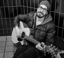 Guitar Player by Mark Jackson