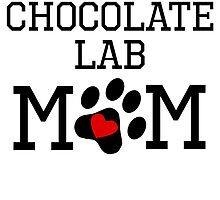 Chocolate Lab Mom by kwg2200