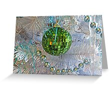 Disco Christmas Greeting Card