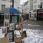 Place du Tertre Montmartre, Paris (all the artists square) by Corinne Pouzet