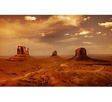 Earth's edge Photographic Print