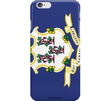 Connecticut State Flag  iPhone Case/Skin