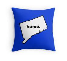 Connecticut. Home. Throw Pillow
