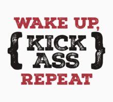 Motivational - Kick ass by BadChicken