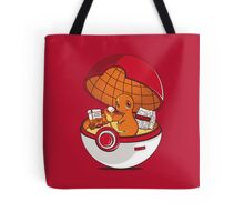 Red Pokehouse Tote Bag