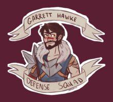 Dragon Age 2 - GARRETT HAWKE DEFENSE SQUAD by 1000butts