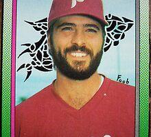 294 - Jeff Parrett by Foob's Baseball Cards